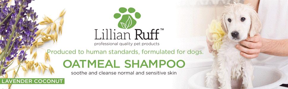 oatmeal shampoo, shampoo for dogs, dog shampoo
