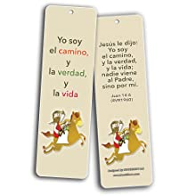 Spanish Bible Verses Bookmarks (God is Love) (60-Pack) - Bulk Collection &  Gift with Inspirational, Motivational Bookmarks for Boys and Girls