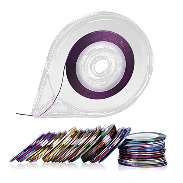 Amazon New8beauty 32 Colors Striping Tape Line Nail Art
