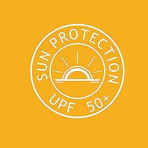 Sun protection upf50+ sunburn protective skin care uv ray