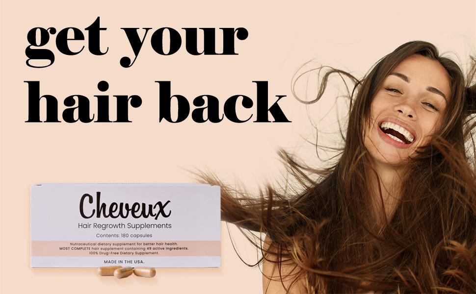cheveux women's hair loss supplement