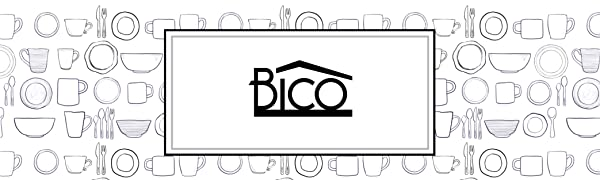 Bico Houseware Dinnerware Home Ceramics