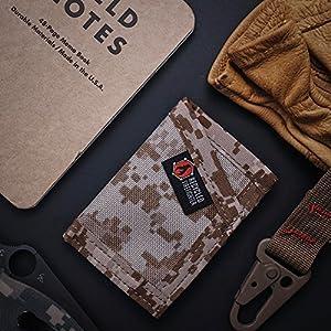 Amazon.com: Billetera delgada para hombre, bolsillo frontal ...