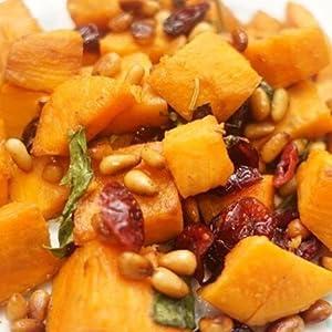 salad baked sultanas recipe delicious garden legume sincerely nuts red
