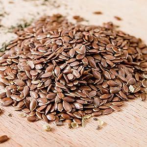 Sincerely Nuts semillas de lino marrón – Vegano, Kosher ...