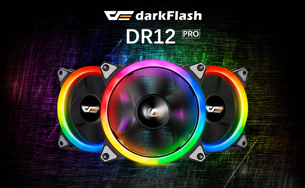 Industrial Electrical darkFlash Aurora DR12 Pro 3-Pack