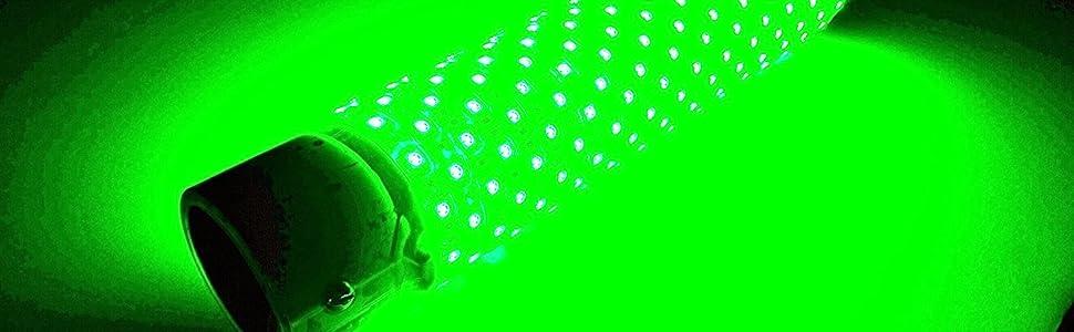 Underwater fishing light, snook fishing light, underwater green fishing light, night fishing light