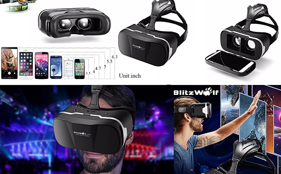 vr games for iphone vr headset with remote controller blitzwolf 1721