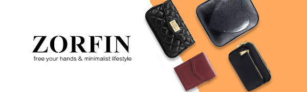 ZORFIN Women Small Crossbody Bag Cell Phone Purse Wallet with Credit Card Slots
