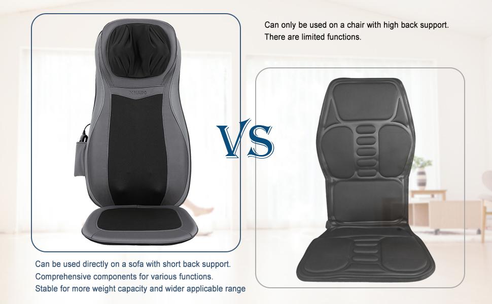 Amazon.com: Cojín de asiento masajeador Naipo con ...