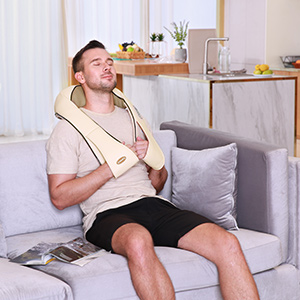 neck massager heat