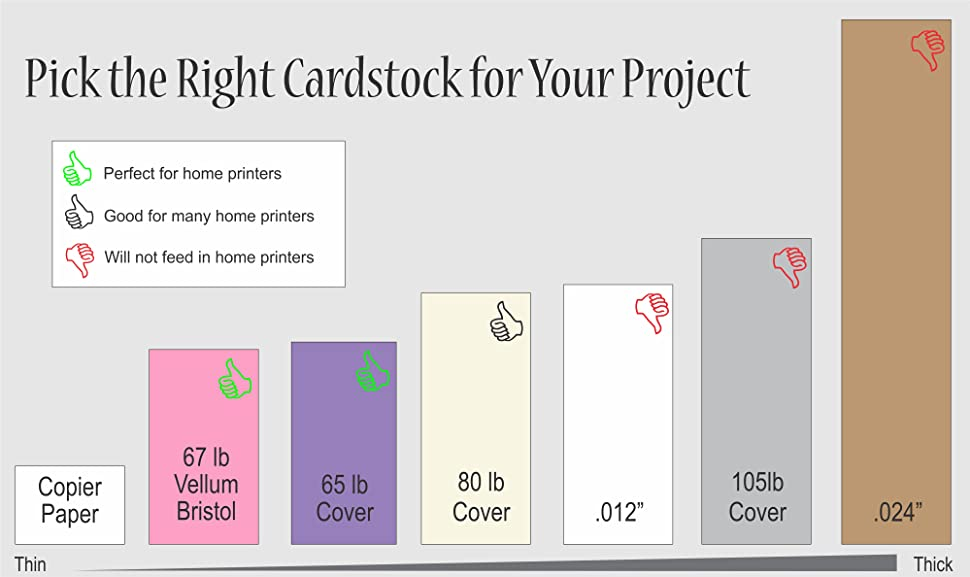 Cardstock Weight Paper