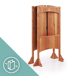The Heartwood Kitchen Helper Stool by Guidecraft is Foldable, Lightweight, Easy to Move