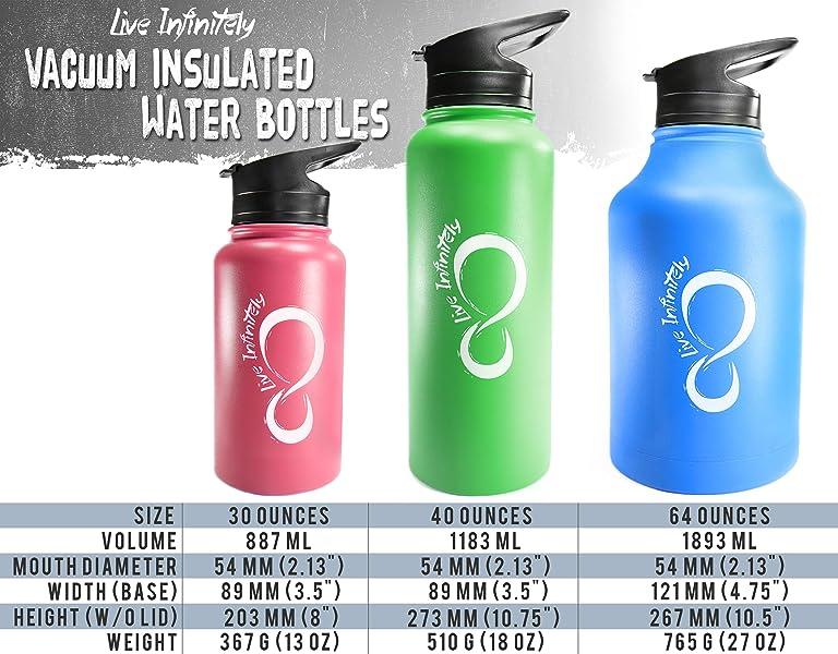 Hydration Bottle,30 oz.,Yellow 158300303