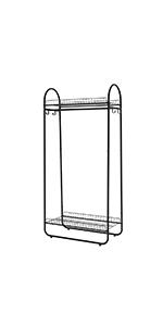 Amazon.com: LANGRIA Heavy Duty Wire Shelving Garment Rack ...