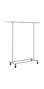 Amazon.com: LANGRIA Heavy Duty Garment Rack Commercial Grade ...