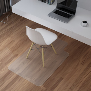 Langria Office Desk Chair Mat With Lip For Hard Floors 30 X 48