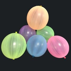 GuassLee 36PCS Punch Balls 12 Round Punching Balloons Punch Balloon for Party Decorations and Kids Girls Party Favors Assorted Neon Colors