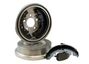 Max DS918042 Rear Premium OE Replacement Drums and Shoes Combo Brake Kit
