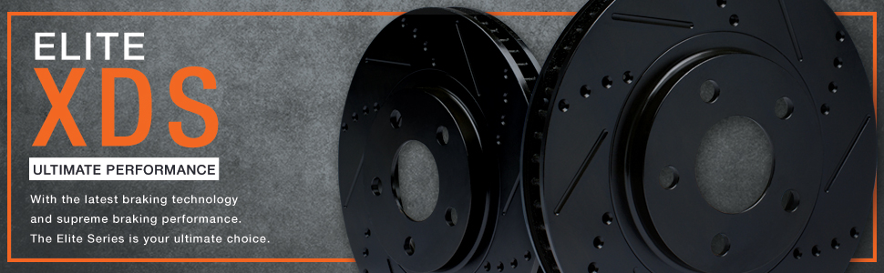 KT008031 Max Brakes Front Performance Brake Kit Fits: 2010 10 Honda Civic DX//LX//EX Sedan Models Premium Slotted Drilled Rotors + Ceramic Pads