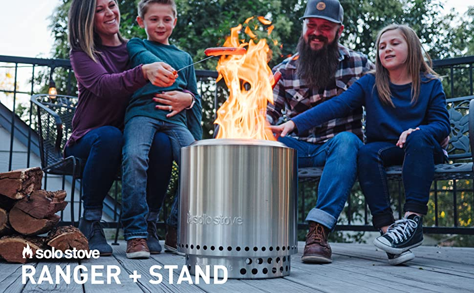 Solo Stove Bonfire Review, Is It Really Smokeless? - Solo Stove Ranger Review