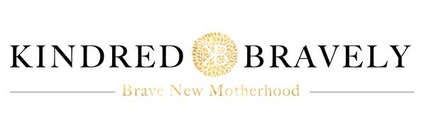 Kindred Bravely Brave New Motherhood Logo on white a Maternity & Nursing Clothing Brand