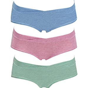 Under the bump heather hipster maternity panties