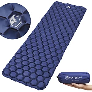 Ultralight Sleeping Pad for Camping, Backpacking, Hiking and Outdoor