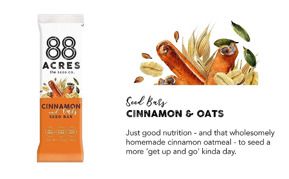 88 acres seed granola bars gluten free nut free non gmo vegan school safe healthy dairy free soy