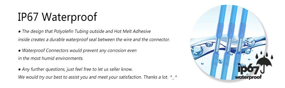 heat shrink butt connectors