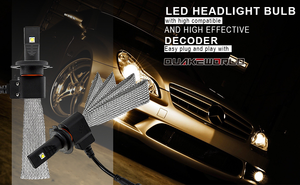 Amazon Com Led Headlight Bulb All In One Conversion Kit