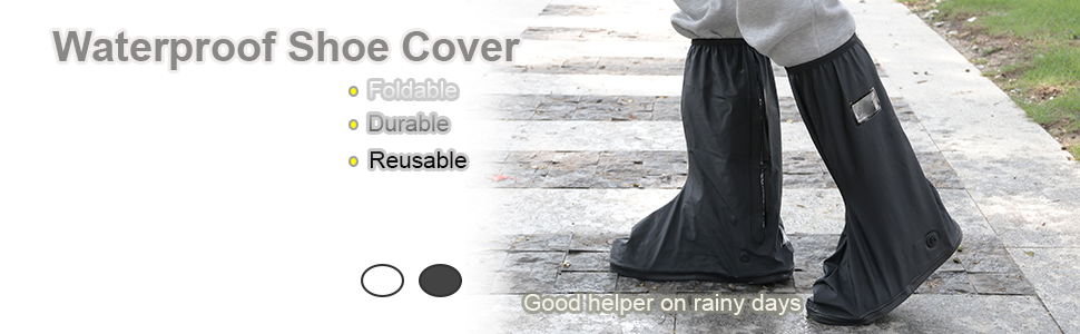Hiking Climbing Travel Winter Snow Cover Boot Cover For Winter Outdoor Activities Oxford Cloth Lightweight Reusable KOET Waterproof Shoe Cover