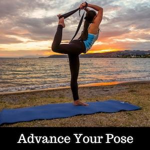 Shantihi Yoga Strap for Stretching Advance your yoga pose