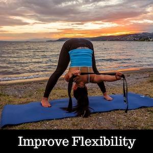 Shantihi Yoga Strap for Stretching Improve Flexibility Extend your range