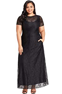 cd22c170a50 Chic and trendy plus size maxi dress for daily casual wear and any formal  occasions.