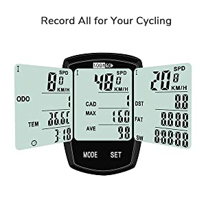 Record all for your cycling