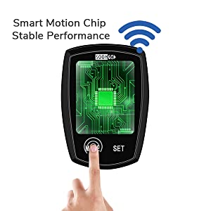 Smart motion chip, stable performance