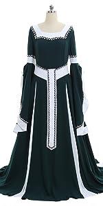 Renaissance Victorian Dress Costume
