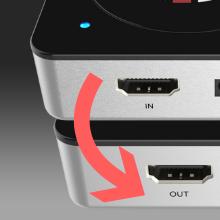 HDMI passthrough