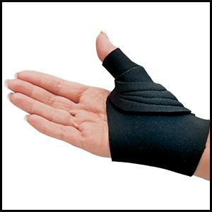 Comfort cool CMC Thumb Arthritis Splint joint ligament pain restriction mobility wrist brace