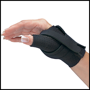 Comfort Cool CMC Thumb Split North Coast Medical Arthritis Occupational Therapist Physical Pain