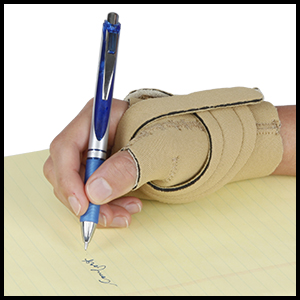 NC79585 North Coast Medical Comfort Cool Thumb CMC Light-weight support less bulky breathable beige