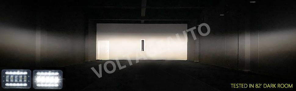 * Evenly distributed long distance lighting within automotive industry standard