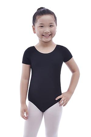 3aaf1f91c Amazon.com  MAGIC TOWN Toddler Ballet Leotard for Girls Dance (2-4 ...