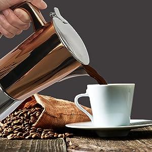 Delicious coffee with Intenca