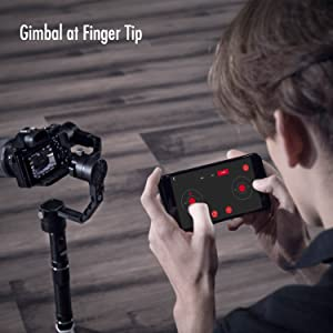 gimbal at finger tip