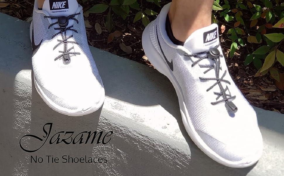 No Tie Shoelaces Elastic Stretch Band