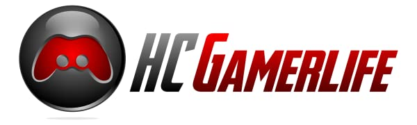 HC Gamerlife Logo, Hardcore Accessories For Hardcore Gamers