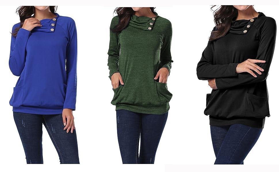 Miusey long sleeve sweatshirts