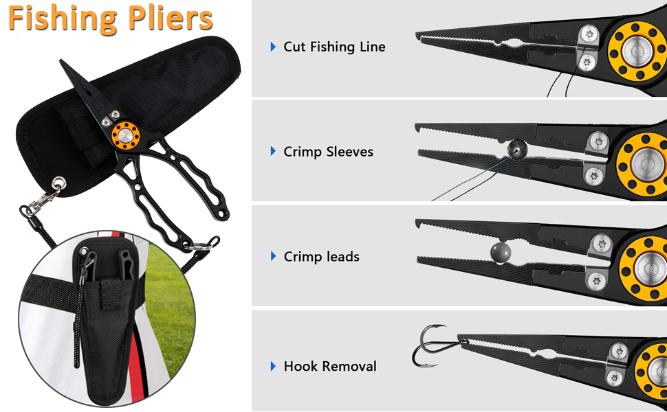 fishing pliers details